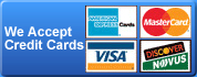 Garage Door Repair Federal Way accepts all major credit cards